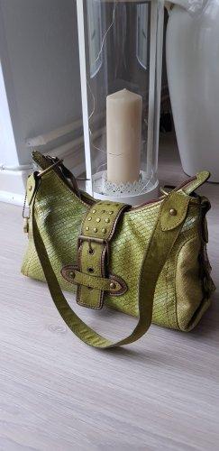 Picard Bolsa de hombro color bronce-verde hierba