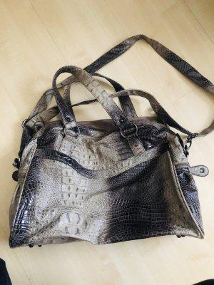 Krokooptik Handtasche Shopper