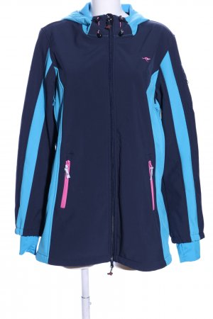 KRS & Co Giacca softshell blu stile casual