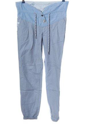 KRS & Co Stoffhose blau Casual-Look