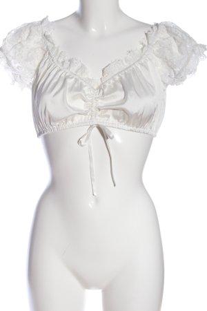 Krüger Cropped Shirt weiß Elegant