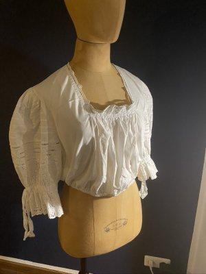 Krüger Folkloristische blouse wit Katoen