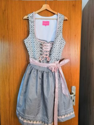 Krüger Dirndl Dirndl light grey-pink