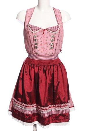 Krüger Dirndl pink-red allover print casual look