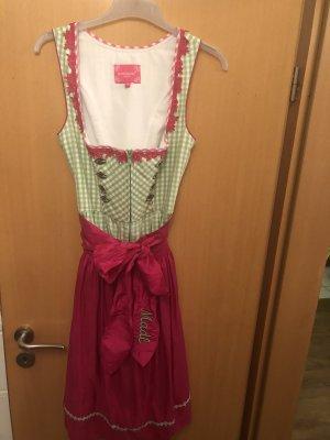 Krüger Dirndl pink/grün, Größe 34