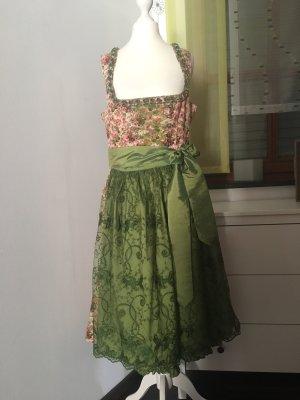 Krüger Dirndl Dirndl rosa pallido-verde
