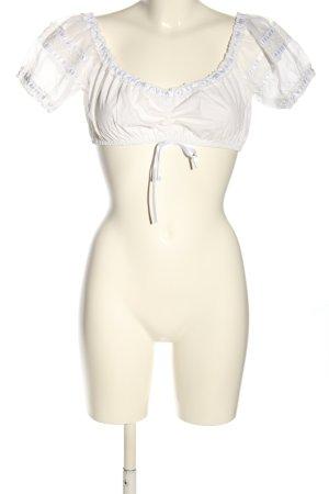 Krüger MADL Blusa tradizionale bianco stile classico