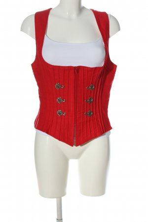 Krüger MADL Traditional Vest red casual look