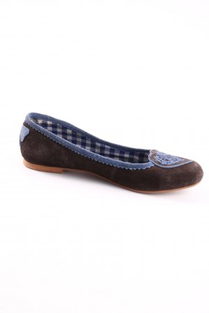 Krüger Slip-on Shoes check pattern casual look