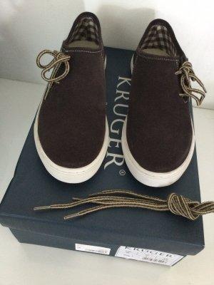 Krüger Lace-Up Sneaker dark brown
