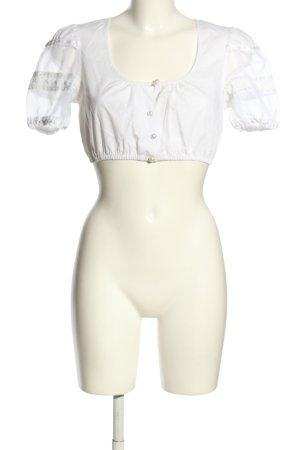 Krüger Blusa tradizionale bianco stile casual