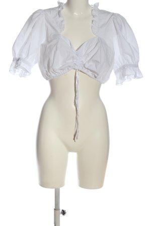 Krüger Tradycyjna koszula biały W stylu casual