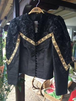 Krüger Folkloristische jas zwart-goud