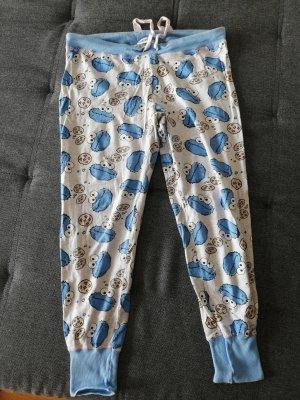 Primark Pyjama gris clair-bleu clair