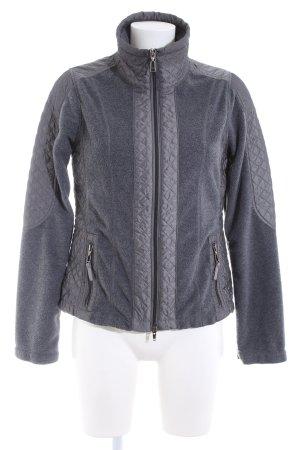 KSTN Fleece Jackets light grey flecked casual look