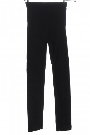 Ksubi Pantalone a vita alta nero motivo a righe stile casual