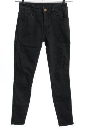 Ksubi Skinny Jeans schwarz Casual-Look