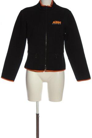 KTM Softshelljack zwart-licht Oranje casual uitstraling