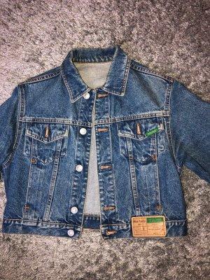 Kürze Jeans Jacke