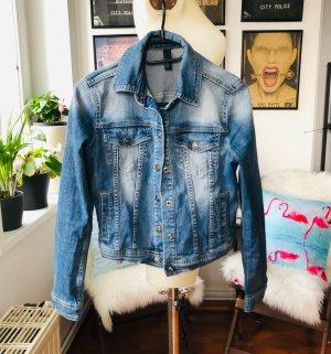 Kürzer geschnittene Jeans Jacke Benetton XS