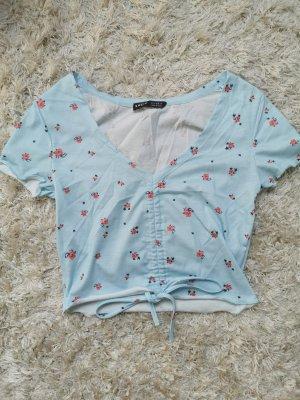 SheIn Cropped shirt veelkleurig