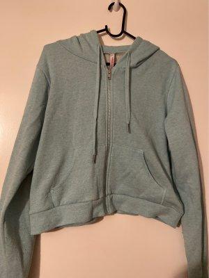 Kürzer zip hoodie