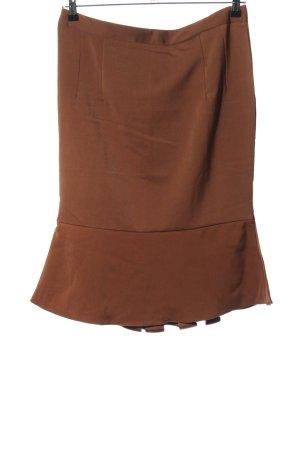 Küsten Luder Spódnica z falbanami brązowy W stylu casual