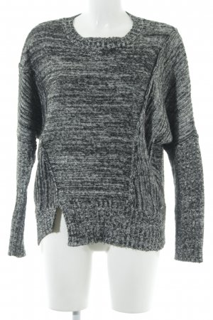 Kuhjo Strickpullover meliert Casual-Look