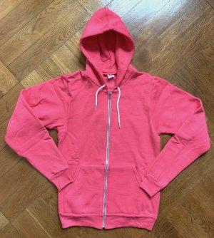 kultiges Flex Fleece Unisex American Apparel Zip-Hoody Sweatjacke Gr. S (M) 36/38 in deep pink NEU!