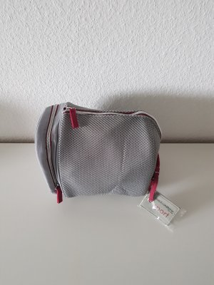 Dolce & Gabbana Makeup Bag light grey-red polyester