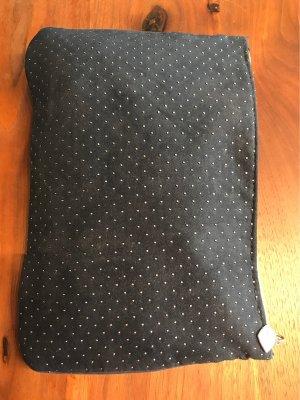 Lancome Mini sac bleu foncé-argenté