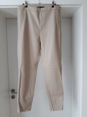 Kunslederhose von Zara XL
