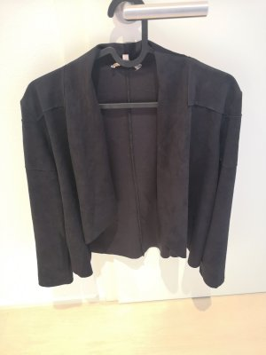 Lenny B. Paris Blazer in pelle nero