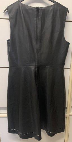 Kunst Leder kleid in Größe 42
