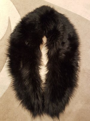 Amy Vermont Tube Scarf black fake fur