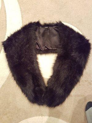 H&M Bufanda tubo negro piel artificial