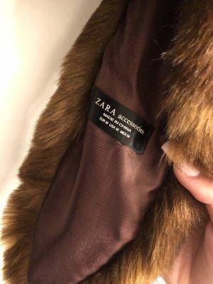 Zara Snood cognac-coloured-brown
