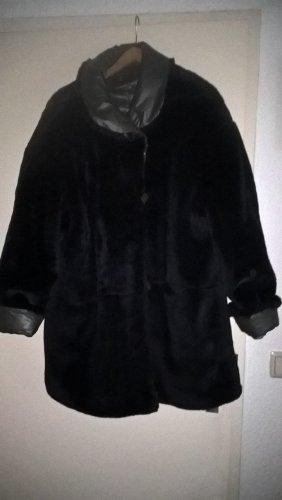 Jean Paul Berlin Giacca in eco pelliccia marrone scuro