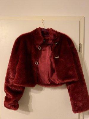 Fur Jacket carmine