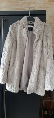 Only Fake Fur Jacket multicolored