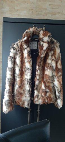 Pepe Jeans London Giacca in eco pelliccia multicolore