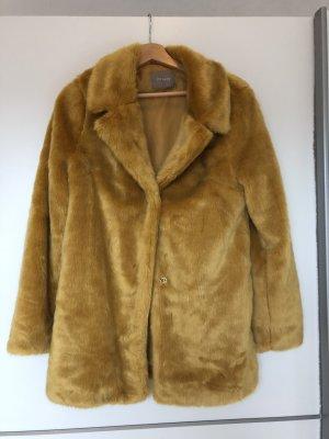 Orsay Cappotto in eco pelliccia multicolore Pelliccia ecologica