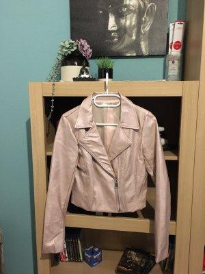 SusyMix Biker Jacket rose-gold-coloured-dusky pink