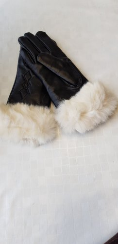 Handschuhe mit Hasenfell