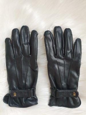 Roeckl Handschoenen van imitatieleder zwart