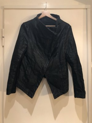 H&M Giacca in ecopelle nero
