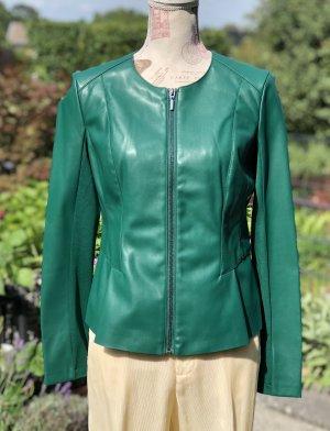 Orsay Veste en cuir synthétique vert