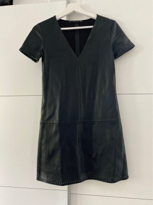 Kunstleder-Kleid