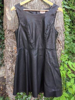 Vero Moda Vestito in pelle nero