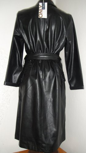 Be only Faux Leather Dress black polyurethane